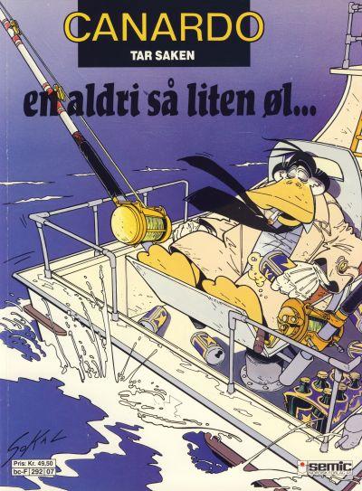 Cover for Canardo (Semic, 1987 series) #[7] - En aldri så liten øl ...