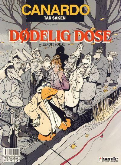 Cover for Canardo (Semic, 1987 series) #[8] - Dødelig dose