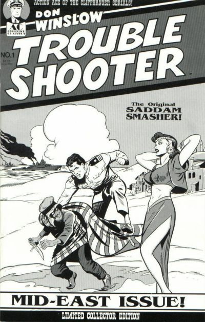 Cover for Don Winslow Trouble Shooter (AC, 1991 series) #1
