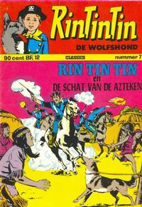 Cover for RinTinTin Classics (Classics/Williams, 1972 series) #7