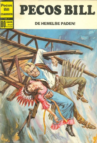 Cover for Pecos Bill Classics (Classics/Williams, 1971 series) #7