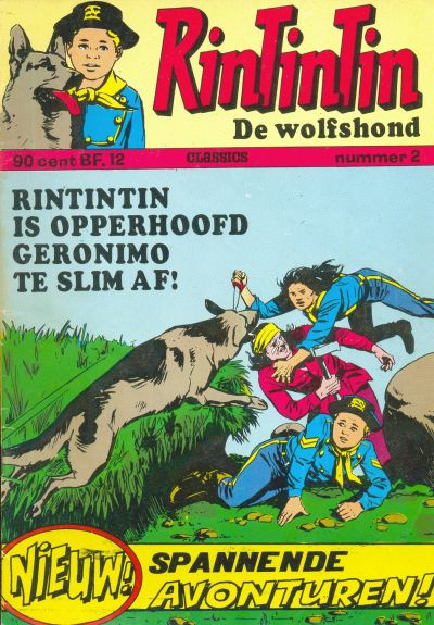 Cover for RinTinTin Classics (Classics/Williams, 1972 series) #2
