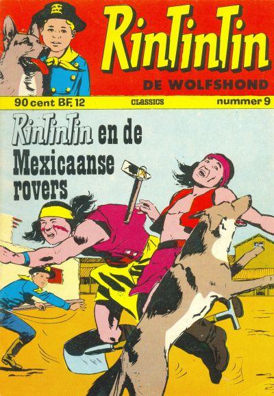 Cover for RinTinTin Classics (Classics/Williams, 1972 series) #9