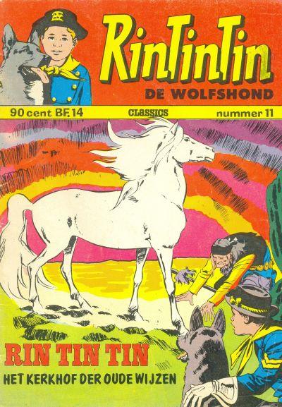 Cover for RinTinTin Classics (Classics/Williams, 1972 series) #11