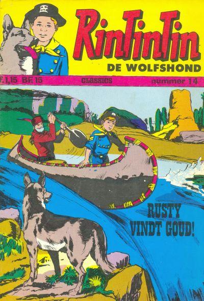 Cover for RinTinTin Classics (Classics/Williams, 1972 series) #14