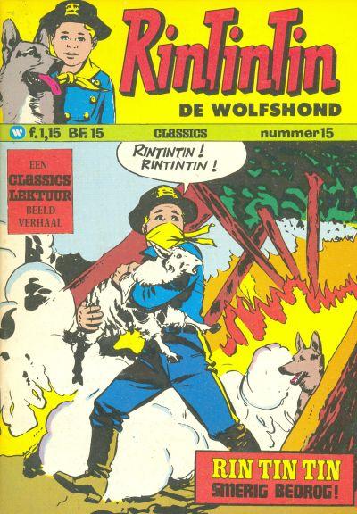 Cover for RinTinTin Classics (Classics/Williams, 1972 series) #15