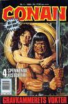 Cover for Conan (Bladkompaniet / Schibsted, 1990 series) #1/1990