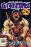 Cover for Conan (Bladkompaniet / Schibsted, 1990 series) #2/1990