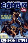 Cover for Conan (Bladkompaniet / Schibsted, 1990 series) #1/1991