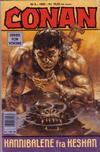 Cover for Conan (Bladkompaniet / Schibsted, 1990 series) #9/1992