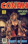 Cover for Conan (Bladkompaniet / Schibsted, 1990 series) #12/1992