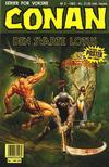 Cover for Conan (Bladkompaniet / Schibsted, 1990 series) #3/1993