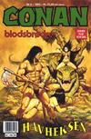 Cover for Conan (Bladkompaniet / Schibsted, 1990 series) #5/1993
