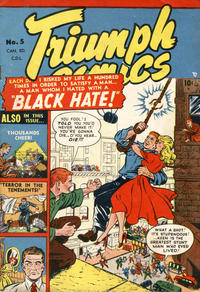 Cover Thumbnail for Triumph Comics (Bell Features, 1950 series) #5