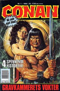 Cover Thumbnail for Conan (Bladkompaniet, 1990 series) #1/1990