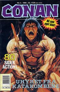 Cover Thumbnail for Conan (Bladkompaniet / Schibsted, 1990 series) #2/1990