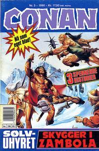 Cover Thumbnail for Conan (Bladkompaniet / Schibsted, 1990 series) #3/1990