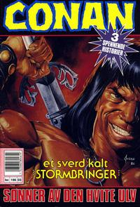 Cover Thumbnail for Conan (Bladkompaniet, 1990 series) #3/1991