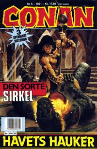 Cover Thumbnail for Conan (Bladkompaniet / Schibsted, 1990 series) #5/1991