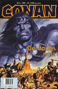 Cover Thumbnail for Conan (Bladkompaniet, 1990 series) #9/1991