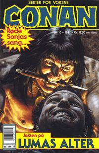 Cover Thumbnail for Conan (Bladkompaniet / Schibsted, 1990 series) #10/1991