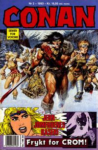 Cover Thumbnail for Conan (Bladkompaniet / Schibsted, 1990 series) #2/1993
