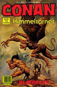 Cover Thumbnail for Conan (Bladkompaniet / Schibsted, 1990 series) #4/1993