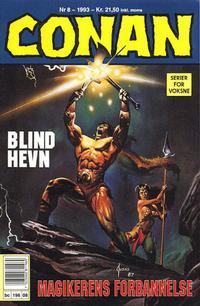 Cover Thumbnail for Conan (Bladkompaniet / Schibsted, 1990 series) #8/1993