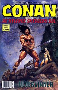 Cover Thumbnail for Conan (Bladkompaniet / Schibsted, 1990 series) #10/1993