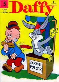 Cover Thumbnail for Daffy (Allers Forlag, 1959 series) #5/1960
