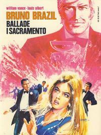 Cover Thumbnail for Bruno Brazil (Winthers forlag, 1979 series) #[1] - Ballade i Sacramento