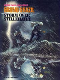 Cover Thumbnail for Bruno Brazil (Winthers forlag, 1979 series) #3 - Storm over Stillehavet