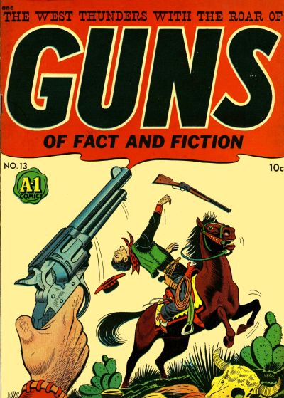 Cover for A-1 (Magazine Enterprises, 1945 series) #13