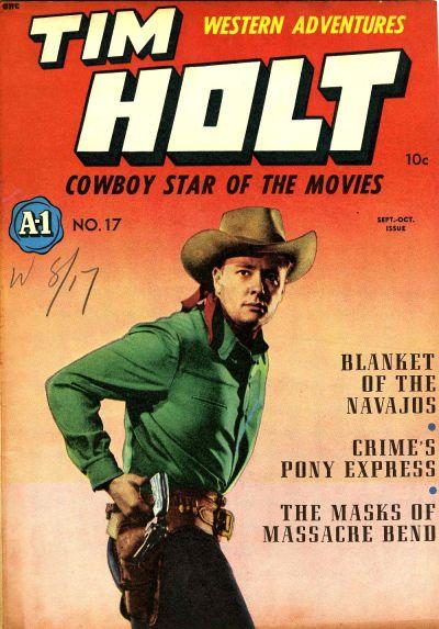 Cover for A-1 (Magazine Enterprises, 1945 series) #17