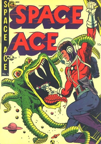 Cover for A-1 (Magazine Enterprises, 1945 series) #61