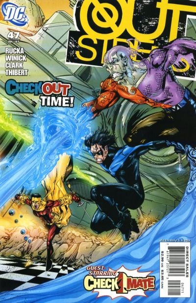 Cover for Outsiders (DC, 2003 series) #47