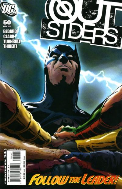Cover for Outsiders (DC, 2003 series) #50