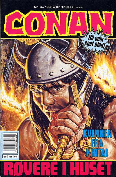 Cover for Conan (Bladkompaniet, 1990 series) #4/1990