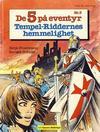 Cover for De 5 på eventyr (Hjemmet / Egmont, 1983 series) #3 - Tempel-Riddernes hemmelighet