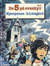 Cover for De 5 på eventyr (Hjemmet / Egmont, 1983 series) #4 - Kjempenes kirkegård