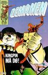 Cover for Demonen (Semic, 1986 series) #4/1986