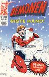 Cover for Demonen (Semic, 1986 series) #9/1986