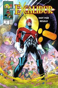Cover Thumbnail for Excalibur No. 1 [Marvel Legends Reprint] (Marvel, 2005 series)