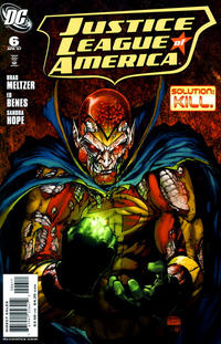 Cover Thumbnail for Justice League of America (DC, 2006 series) #6 [Michael Turner Cover]