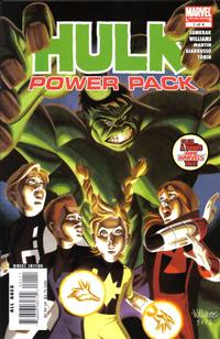 Cover Thumbnail for Hulk and Power Pack (Marvel, 2007 series) #1