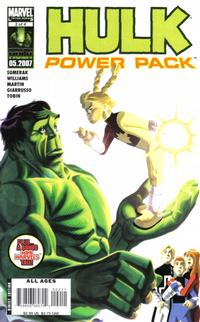 Cover Thumbnail for Hulk and Power Pack (Marvel, 2007 series) #2