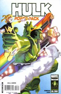 Cover Thumbnail for Hulk and Power Pack (Marvel, 2007 series) #3