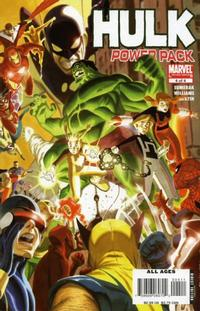 Cover Thumbnail for Hulk and Power Pack (Marvel, 2007 series) #4