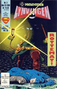 Cover Thumbnail for DC presenterer (Semic, 1988 series) #3/1989