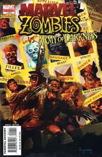 Cover Thumbnail for Marvel Zombies / Army of Darkness (Marvel / Dynamite Entertainment, 2007 series) #1